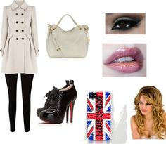 """""""cold in london"""" by lauana-souza ❤ liked on Polyvore"""