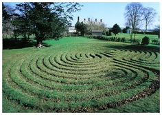 One of only 8 remaining ancient turf labyrinths in Britain the 15 circuit Troy Town Maze in Somerton is also the only such labyrinth in Britain. Sixty feet across. It is a flattened shape near the entrance rather than completely round. Now housed in a bed and breakfast (!) private grounds.