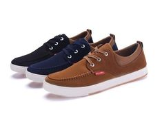 - Cool low casual shoes perfect for any look - Made from fabric and PU - Rubber sole - Available in 3 colors