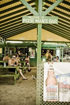 Poor Man's Bar & Grill, Virgin Gorda  We'll have to check this out ...