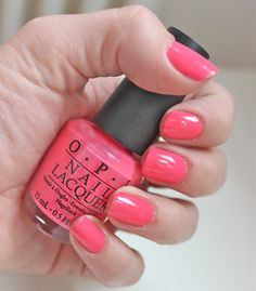 Opi - elephantastic pink what i have on my nails now! Opi Nail Polish, Opi Nails, Manicures, Nails Now, How To Do Nails, Essie, Opi Pink, Pink Nail, Nail Polish