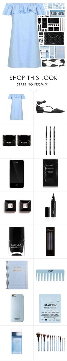"""2225 // L e o . M i n o r"" by arierrefatir ❤ liked on Polyvore featuring Chanel, MANGO, Design Letters, Incase, Cleanse by Lauren Napier, Givenchy, CARGO, Nails Inc., Flamant and Isaac Mizrahi"
