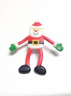 Santa ring huge ring christmas ring poseable santa by PokeysWorld