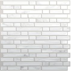 Self stick tiles from Wayfair: Smart Tiles Mosaik Self Adhesive High-Gloss  Mosaic in