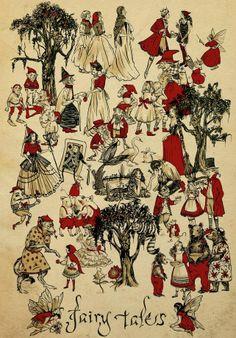 Fairy Tales by Sarah Andersen