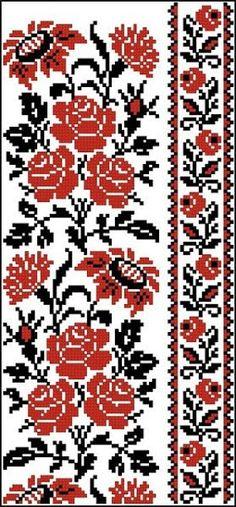 Gallery.ru / Фото #128 - схемы для вышиванок - zhivushaya