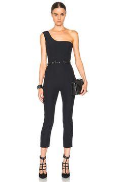 Image 1 of Alexander McQueen Jumpsuit in Black