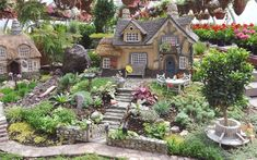 garden ideas eyfs Take Your Pick! The Top Miniature Fairy Garden Design Idea Mini Fairy Garden, Fairy Garden Houses, Gnome Garden, Garden Cottage, Garden Gate, Miniature Plants, Miniature Fairy Gardens, Miniature Houses, Garden Ideas Eyfs