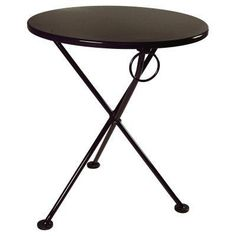 ihome lenzburg square 31 5 blue metal table for indoor outdoor