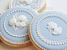 Sweetambs blue #cookies. #sweets