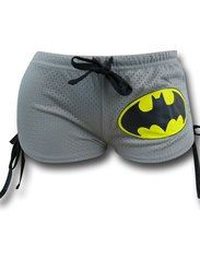 Batman Logo Women's Mesh Shorts