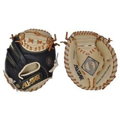 """All Star Catcher's Training Mitt ( 27"""" Worn on Left Hand ) by All-Star. $49.99. Training tool of many coaches and athletes, this tiny 27 inch mitt offers very little other than pocket and a guaranteed way to increase your catching skills. Recommended by catching coaches and professional athletes alike"""