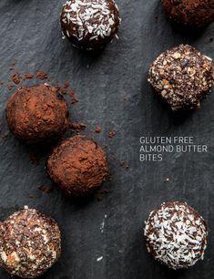 gluten free almond butter bites