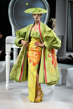 Pictures of Christian Dior designs - art, catwalk, christian dior, couture, design, dior, japanese, runway