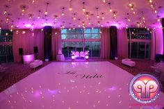 A Beautiful Wedding we did at Epic Hotel Miami creating the luxurious lighting and entertainment www.powerparties.com