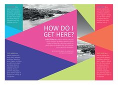 How to Create a Colorful Brochure for Print Using CorelDRAW