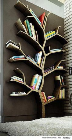 Tree Bookshelf/ Room Decoration + useful