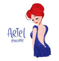 Disney RedCarpet: Ariel by AREhime on deviantART