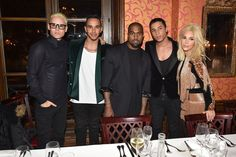 Pin for Later: Jared Leto Just Can't Get Enough of the Kardashian-Jenners  The group hung out with British Formula One racing driver Lewis Hamilton and designer Olivier Rousteing.