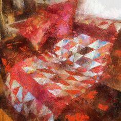 .@kerstinfrankart | #quilt #pillow #autopainter #Aquarella #instaapp #instaart #ipadart #ipaded... | Webstagram - the best Instagram viewer