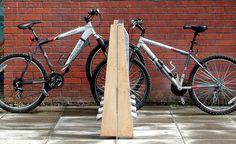 Compact bike rack - Sculptural bicycle parking rack | H-B Designs
