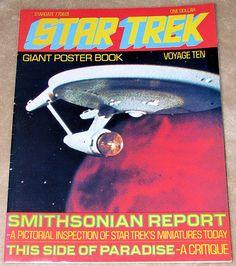 Star Trek Monthly Magazine Poster Book, Voyage Ten, Star Date 7706.01 (1977).
