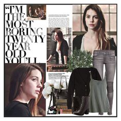 Teen Wolf - Cora Hale by noseinanovel on Polyvore featuring H&M, Steve Madden, Nearly Natural, New Growth Designs and Marc Jacobs