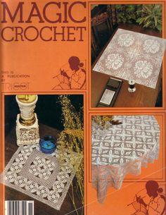 Magic Crochet Nº 11 - Edivana - Picasa ウェブ アルバム Crochet Patterns Filet, Crochet Chart, Filet Crochet, Crochet Symbols, Knitting Books, Crochet Books, Thread Crochet, Crochet Tablecloth, Crochet Doilies