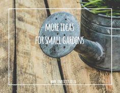 Simple But Lovely Small Garden Ideas Simple Living Blog, Small Gardens, Garden Ideas, Space, How To Make, Floor Space, Little Gardens, Landscaping Ideas, Backyard Ideas