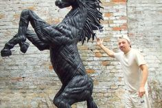 Home Used Tires, Animals, Animal Sculptures, Diy And Crafts, Animales, Animaux, Animal, Animais