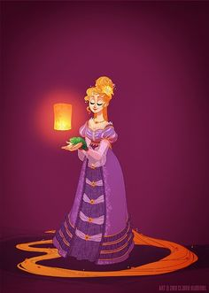 H i s t o r i c a l D i s n e y P r i n c e s s e s & Q u e e n s by shoomlah - Rapunzel