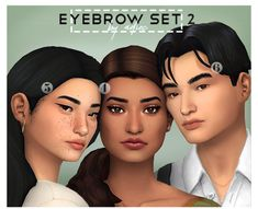 how to eyebrow pencil Sims 4 Cc Packs, Sims 4 Mm Cc, Sims Four, Sims 4 Game Mods, Sims Games, Sims 4 Cas, My Sims, The Sims 4 Skin, Sims 4 Gameplay