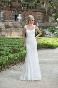 Style 3885  Sincerity collection 2016 #weddingdress #lace