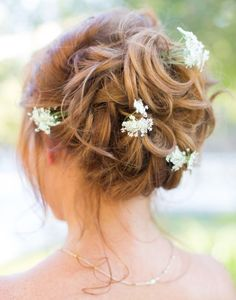 Coiffure De Mariage  : Featured Photographer: Thisbe Grace Photography