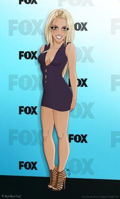 Britney Spears @ X Factor 2012 by ~titeufffff on deviantART