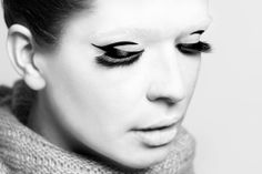 makeup, fashion, sesion, liner, lines,  Fot: Paweł Zając Mod: Nikola Parol MUA: Petit Piaf