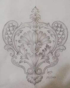 Vintage Frame Tattoo, Vintage Frames, Henna Designs, Designs To Draw, Drawing Art, Art Drawings, Choli Pattern, Framed Tattoo, Pencil Design