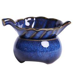 Jianzhan Rabbit Hair Blue Gaiwan 170 cc / Pitcher / Strainer / Tea Cup, KTM010 Chinese Tea Set, Tea Pitcher, Tea Jar, Tea Canisters, Gift Coupons, Tea Strainer, Tea Ceremony, Decorative Bowls, Tea Pots