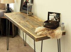 Reclaimed Wood Console Table, Sofa Table – JW Atlas Wood Co.