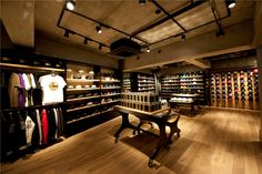New Era flagship store, Tokyo store design
