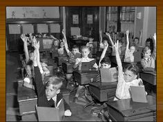 THE UTAH AMICUS: The History of Public Education. This picture shows young children getting a PUBLIC education rather than a CATHOLIC schooling that came along in the This new schooling system became very popular. Commonly Confused Words, Kickin It Old School, Teaching Manners, School Daze, Gifted Kids, Vintage School, Marzano, A Classroom, Modern Classroom