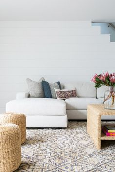 dreamy, minimalist living room