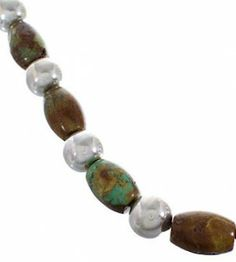 American Indian Turquoise Bead Jewelry Necklace PX33798