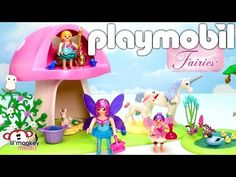Playmobil Fairies! 9 Playsets | Fairy Club, Fairy Queen Ship, Toadstool House…