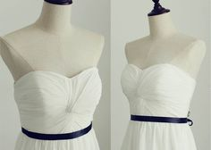 Hey, I found this really awesome Etsy listing at https://www.etsy.com/listing/193542561/strapless-sweetheart-chiffon-wedding