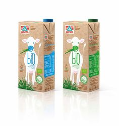 Delta Bio Organic Milk on Packaging of the World - Creative Package Design Gallery