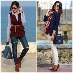 Quer usar bordô e não sabe com qual cor combinar?! Acerte na harmonização usando com azul marinho não vai ter erro! Invista! #mulheresdebomgosto #mbg #consultoriadeestilo #personalorganizer #inspiration #organization #cool #lifestyle #streetstyle #mood #trend #outfit #lookoftheday #chic #style #fashion #ootd #fashionista #outfitoftheday #classic #work #week #weekend #news #trendy #tendencia #superbonita by mulheresdebomgosto
