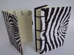 Conjunto diário e caderno em copta
