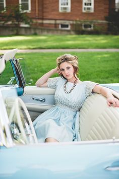 Anne Blodgett Photography » Lemonade and Lenses | Vintage car shoot