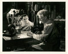 Colin Clive and Ernest Thesiger - The Bride of Frankenstein (James Whale, 1935)